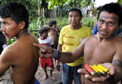 Resultado de imagem para conflito indigena no Maranhão