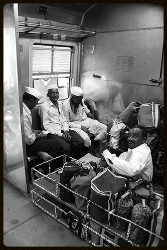 Such A Long Journey- Dabbawalas In Local Train by firoze shakir photographerno1