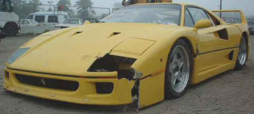 Wrecked Exotic Salvage Cars For Sale