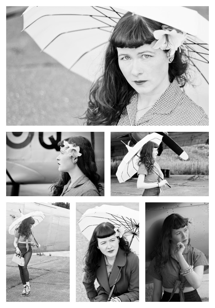 Stephanie Collage B&W