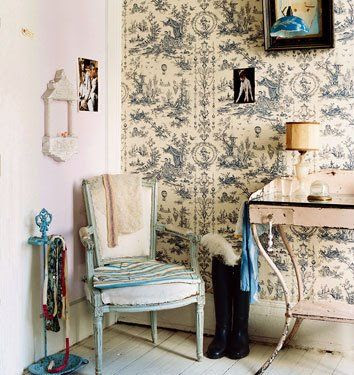 bedrooms decorated in toile - Google Search