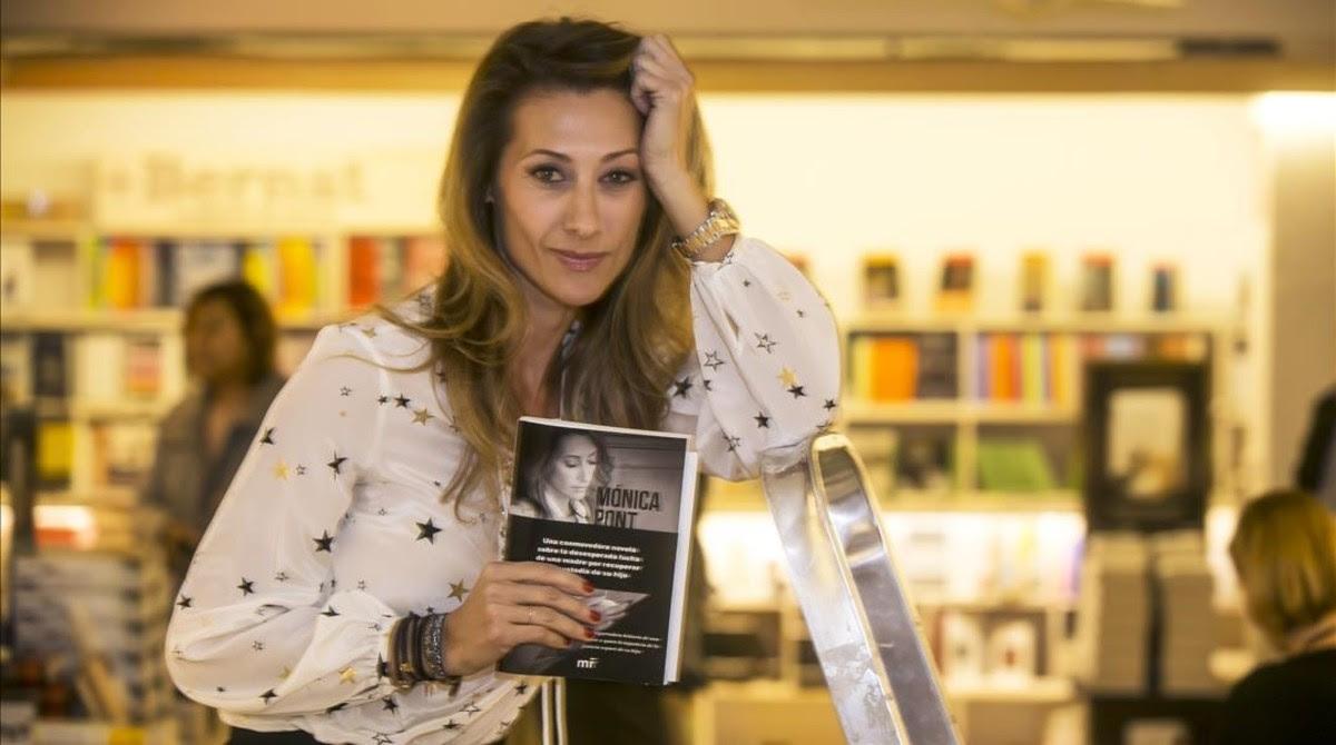 Mónica Pont novela su tortuoso divorcio