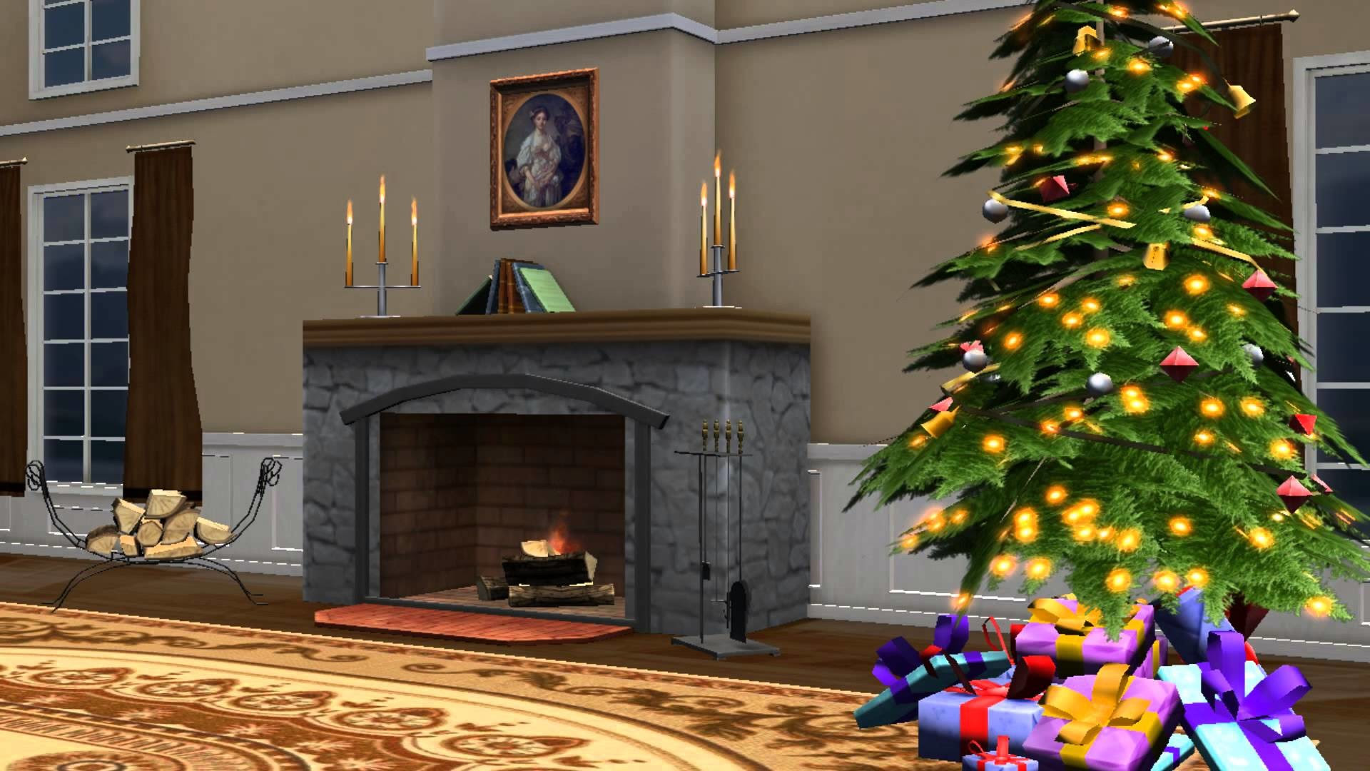Christmas Screen Backgrounds 55 Images