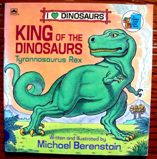King Of The Dinosaurs Tyrannosaurus Rex A Golden Little LookLook Book