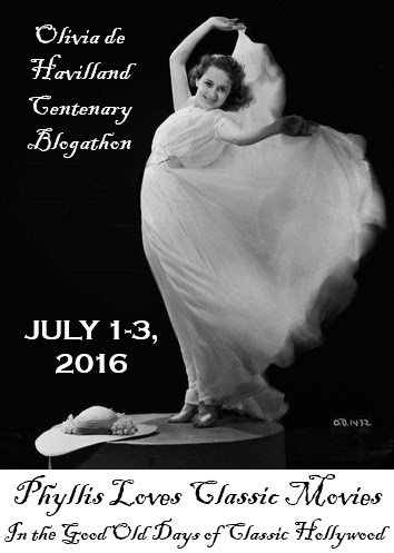 The Olivia de Havilland Centenary Blogathon