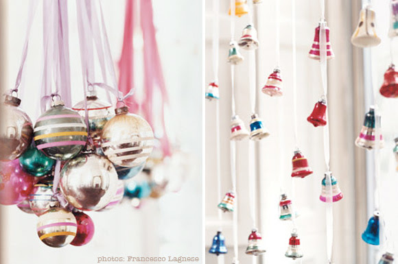 DIY Christmas Decorations on Ribbons  At Home with Kim Vallee