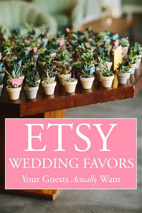 Etsy Wedding Favors Your Guests Actually Want to Take Home