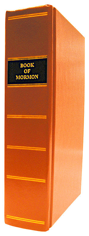 Reprint of the 1830 edition of The Book of Mor...