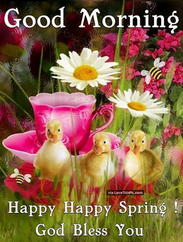 Image result for Happy Spring with good thoughts