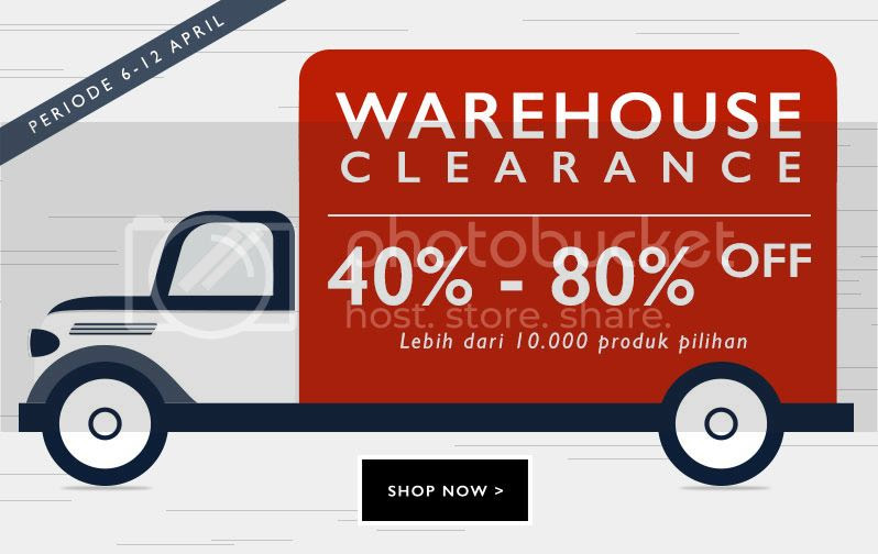 Zalora Warehouse Clearance