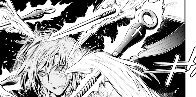 D Gray Man Manga Panels