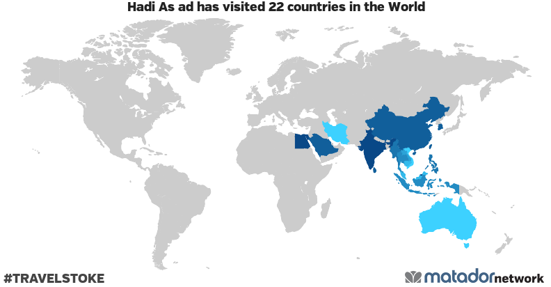 Hadi As ad's Travel Map