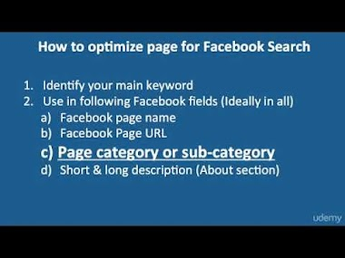 4 Use these steps to optimzie your Facebook page for Facebook graph search
