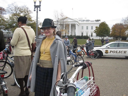 Trena at the White House