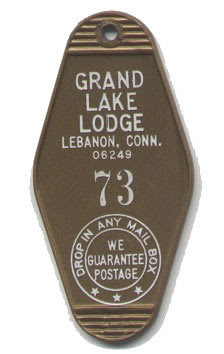 Grand Lake Lodge Key Ring 73
