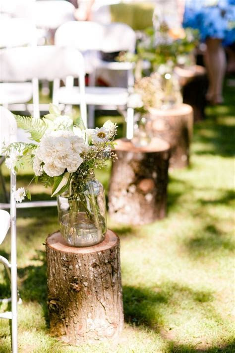 Vintage outdoor wedding isle decorations   Things I love