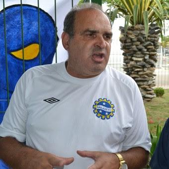 Adilson José da Silva, presidente do São José Esporte Clube (Foto: Filipe Rodrigues)