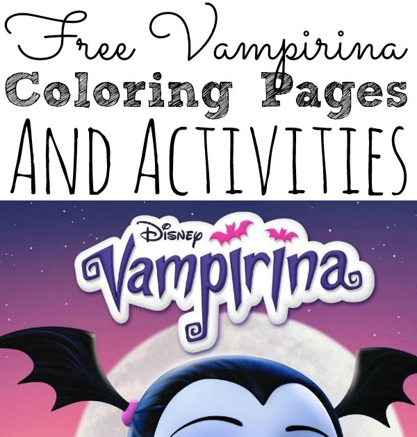 Vampirina Coloring Pages Coloring Pages Kids 2019