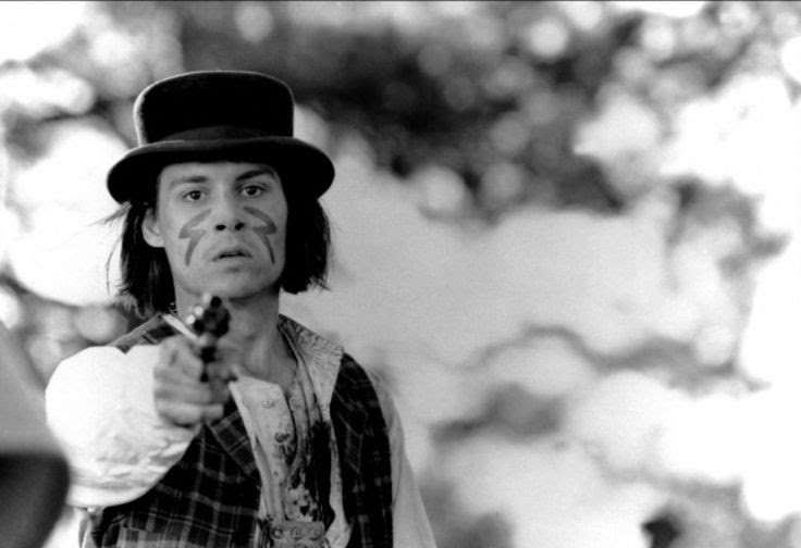 Johnny Depp in Dead Man directed by Jim Jarmusch, 1996
