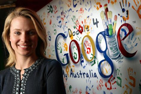 Google vice-president Marissa Mayer in Sydney last week.