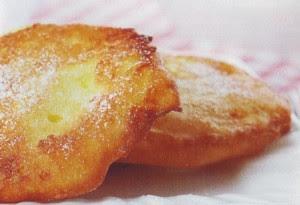 frittelle all'ananas,frittelle, ananas,ananas fritti,