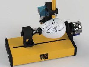 Arduino Uno Yumurta Boyama Robotu Kalem Cnc Elektronik Devreler