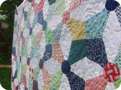 Kaleidoscope Quilt - Detail