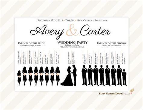 Best 25  Wedding program sign ideas on Pinterest   Wedding