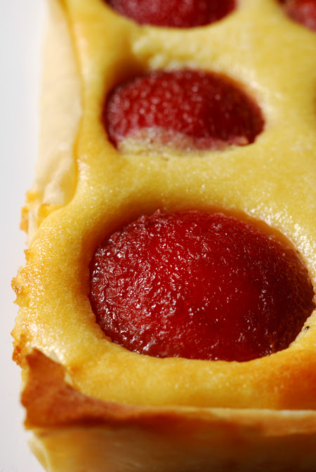Spiced Plum Tart