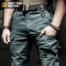Tactical pants men's Cargo casual Comba Military work Cotton Trousers