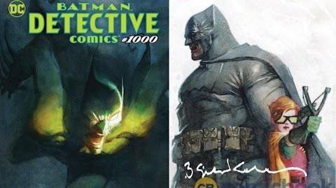 Bill Sienkiewicz Detective Comics 1000