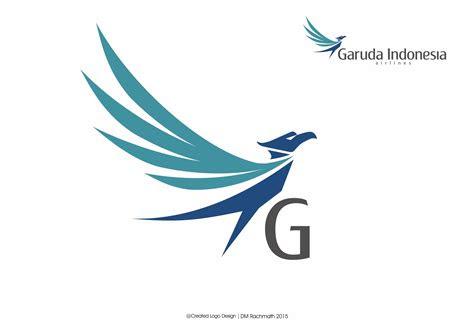 garuda indonesia logo flying bird created  dm rachmath