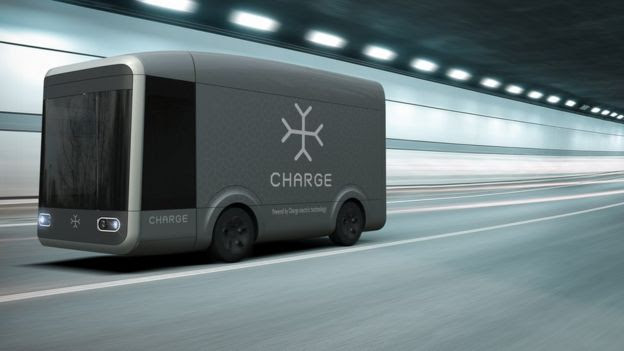Charge's self-drive electric van
