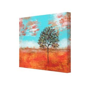 I Will Revere Decor Canvas Print From Original Art wrappedcanvas
