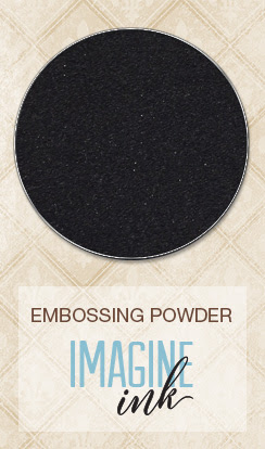Imagine Ink - Embossing Powder - Ebony