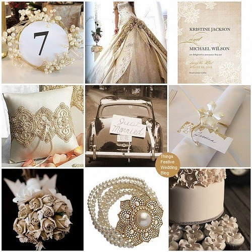 Vintage Themed Wedding: Vintage Wedding Theme - Vintage Lace And Pearls