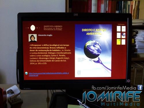 Aplicação interactiva para ver obras digitais publicadas de autores