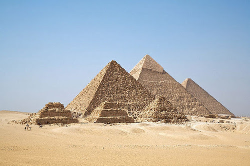 The Egyptian pyramids were built by skilled tradesmen according to the recent excavations done inside the area. by Pan-African News Wire File Photos