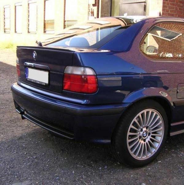 BMW E36 3 Series Compact Rear Boot Trunk Spoiler Lip Wing Sport Trim Lid M3 M