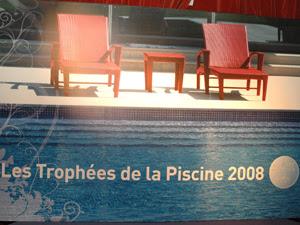 Trophée de la Piscine 2008