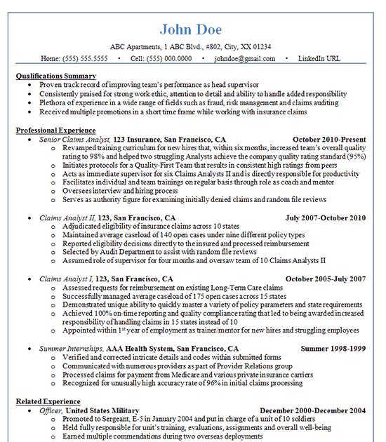 linkedin url on resume