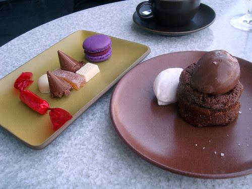 The Slanted Door - dessert