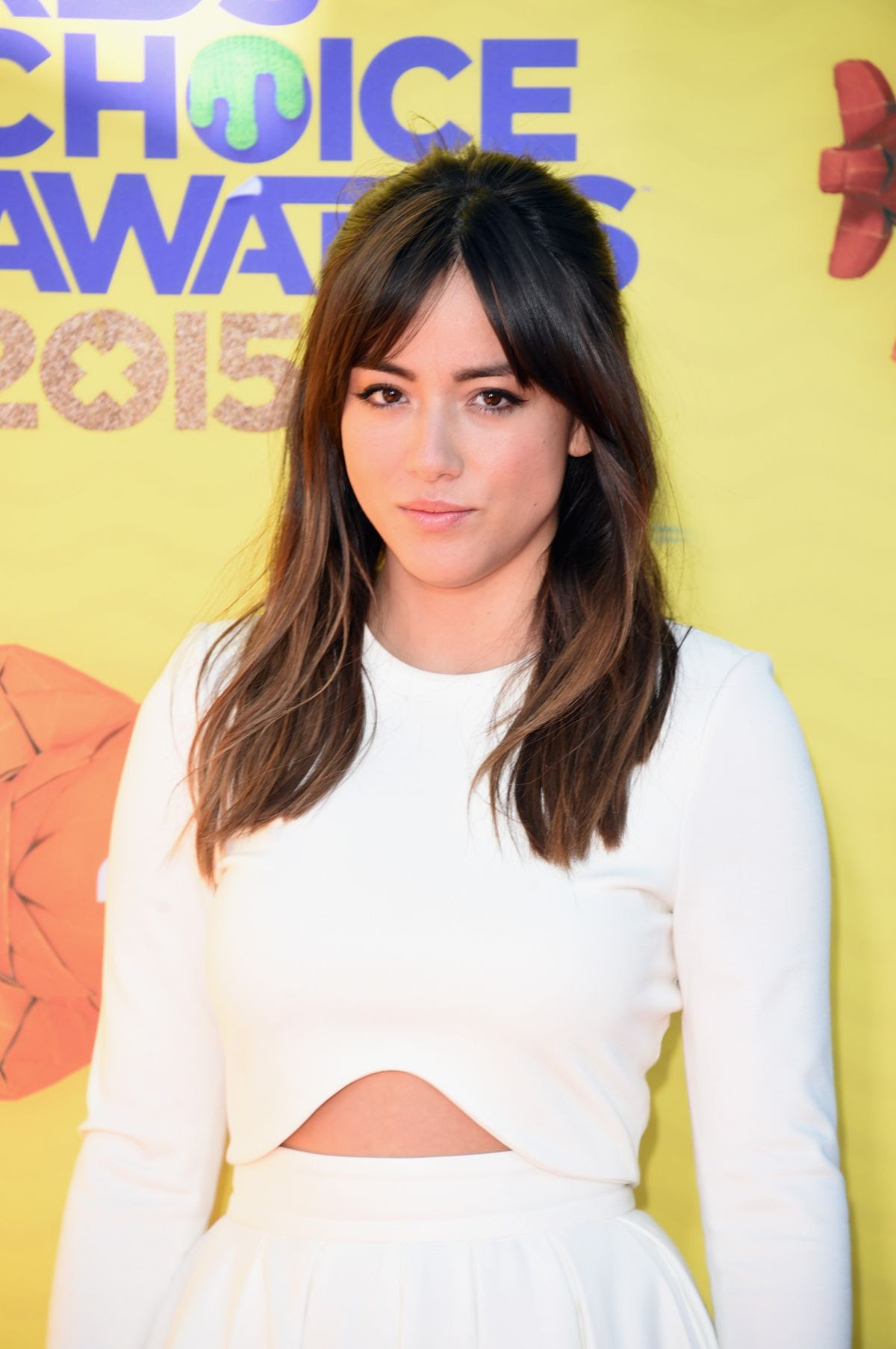 CHLOE BENNET at 2015 Nickelodeon Kids Choice Awards in Inglewood