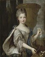 Portrait of Louise Élisabeth de Bourbon (1693-1775), Princess of Conti by Pierre Gobert.jpg