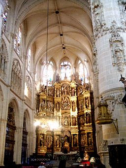 Burgos - Catedral 076 - Capilla Mayor