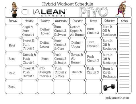 fitness calendars images  pinterest beachbody