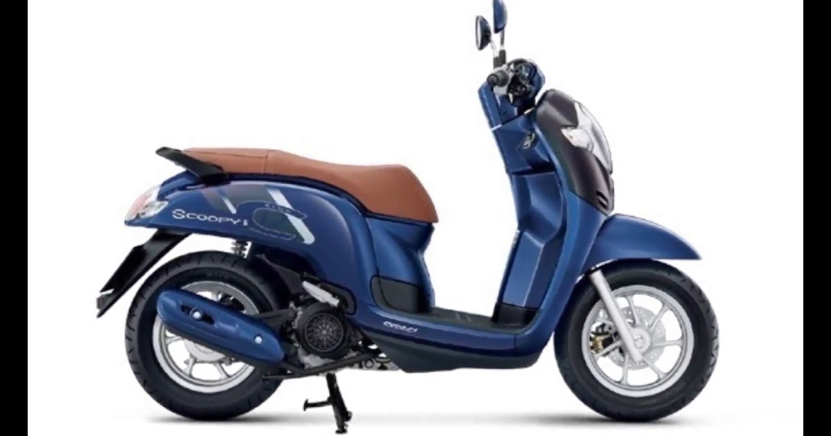30 Inspirasi Baru Gambar Motor Honda Scoopy Terbaru