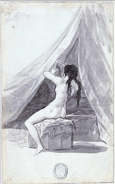 File:Mujer desnuda con un espejo (Goya).jpg