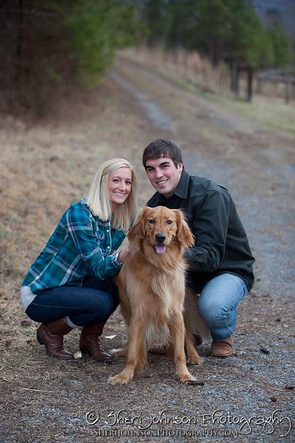 Misti & Caleb Farm Engagement