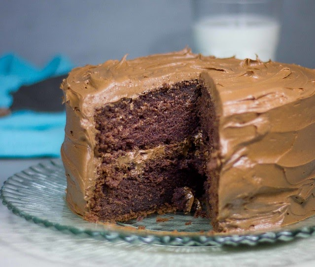 Indulgent Chocolate Fudge Cake
